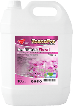 TP ambiance floral